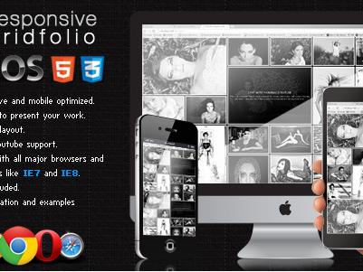 Download Responsive Gridfolio Plugin Free