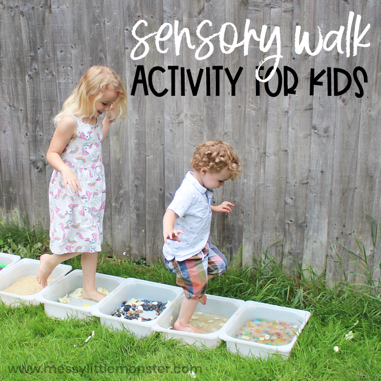 Sensory walk activity for kids