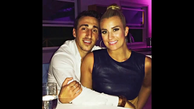Brad Marchand And His Wife