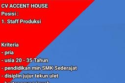 Loker ACCENT HOUSE Terbaru di Jepara