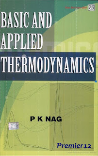 Applied Thermodynamics PK Nag Primer 12