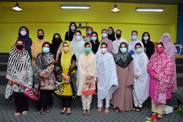 DEMO and KPITB delivered the first SheMeansBusinessTraining Workshop for Women Entrepreneurs in Durshal Peshawar