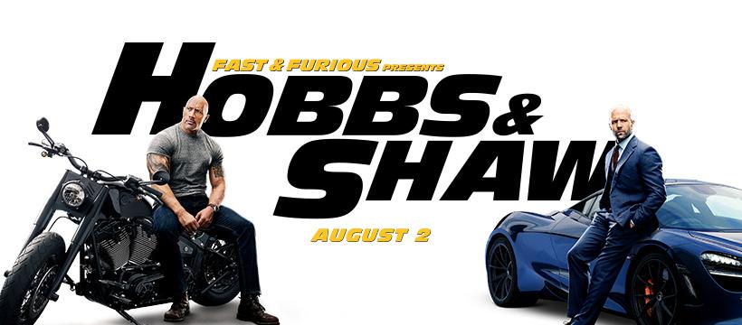 Hobbs and shaw stream