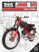 JAWA 90, veteran literatura, knihy o motocykloch, veterany, motocyklova literatura, povazske strojarne, jawa 90, cross roadster trail