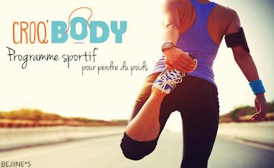 Croq'Body : programme sportif en vidéo pour perdre du poids