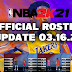 NBA 2K21 OFFICIAL ROSTER UPDATE 03.16.21 LATEST TRANSACTIONS+RATINGS UPDATE+EARNED JERSEY