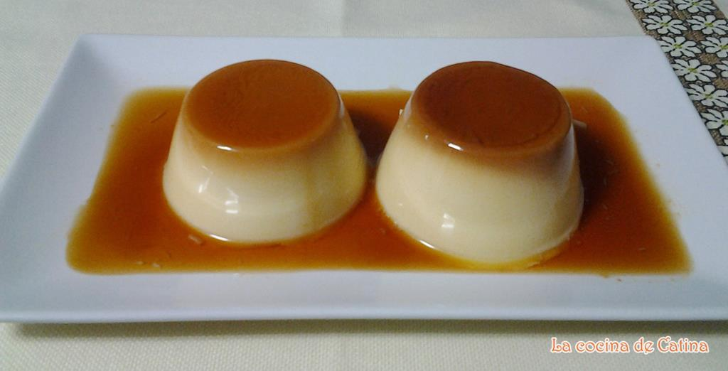 Flan royal con huevo la cocina de catina - Flan de huevo sin horno ni bano maria ...