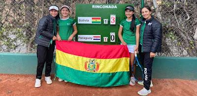 Tenista bolivianos (Foto: Tenis al Máximo)