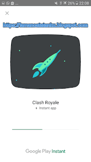 proses loading game di instant app