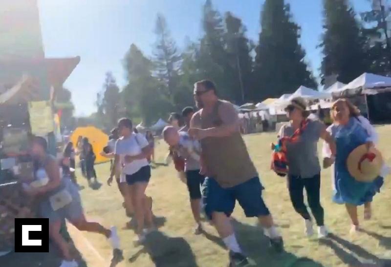 Video: Tiroteo mortal en un festival de comida en California