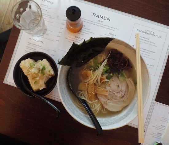 Muga Ramen Bar London Restaurant Review
