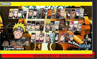 Download Naruto Senki by Unknown0 V2 UPDATE Mod Apk