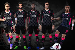 Liverpool 3rd Kit FA Cup 2021 - PES 2017