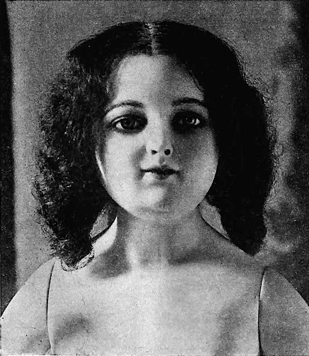 1917 store mannequin child from catalog photograph
