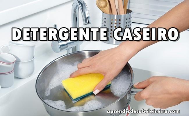 RECEITA DE DETERGENTE CASEIRO FÁCIL