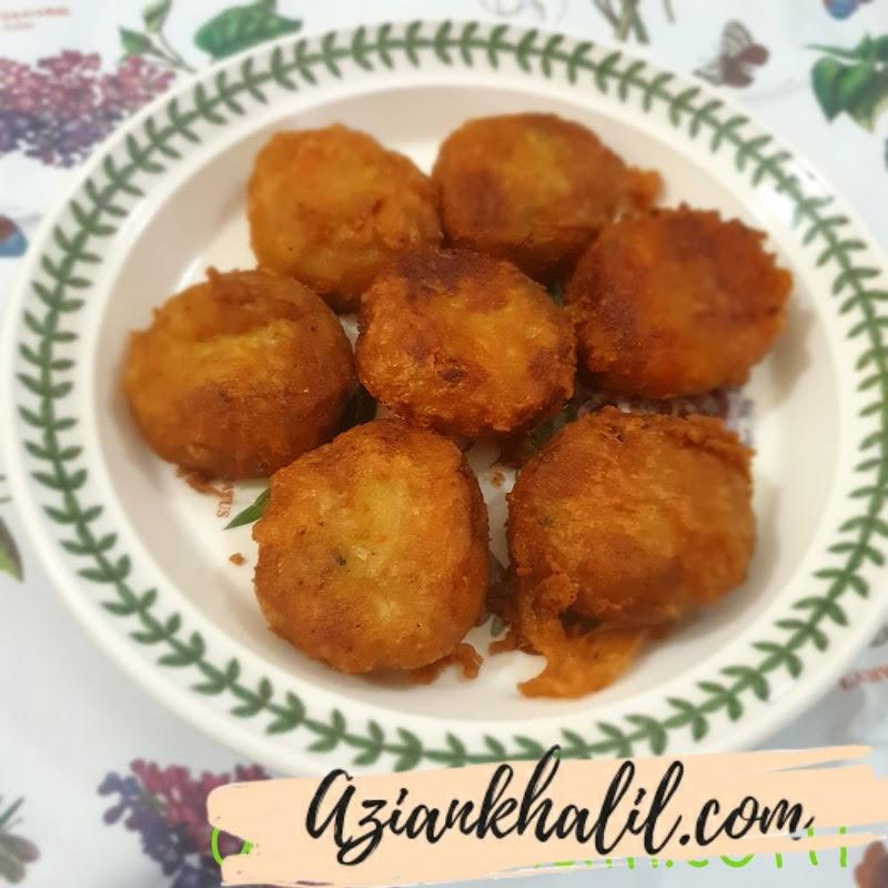 MY Masak Begedil kentang vegetarian
