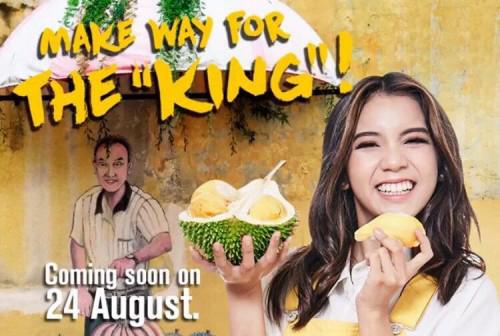 Aiskrim Durian di McDonalds Malaysia