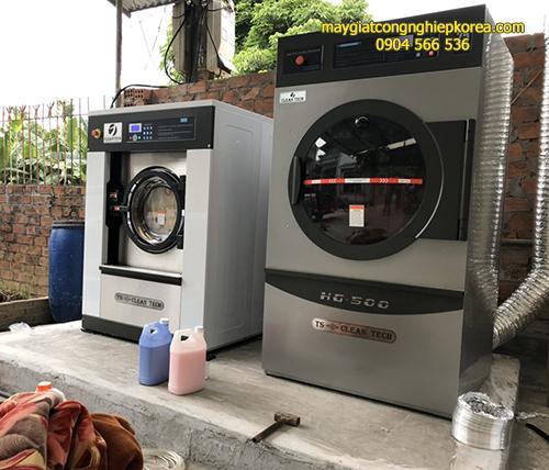 Máy giặt công nghiệp Cleantech cho khách sạn