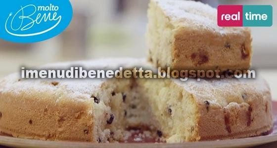Torta Di Mele Soffice Con Mirtilli Rossi La Ricetta Di Benedetta