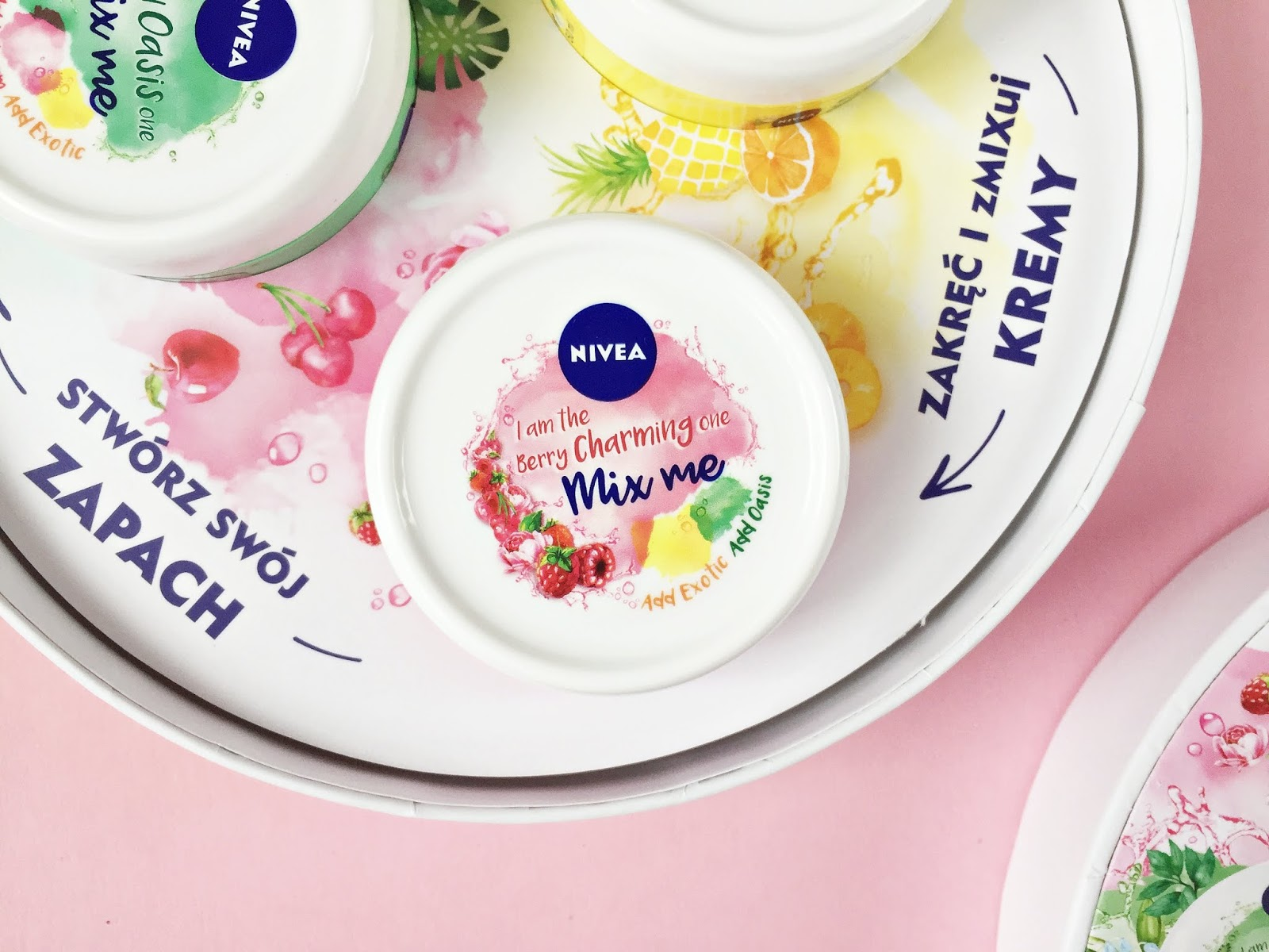 nivea soft mix me krem