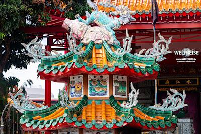Tempel in Singapur www.WELTREISE.tv