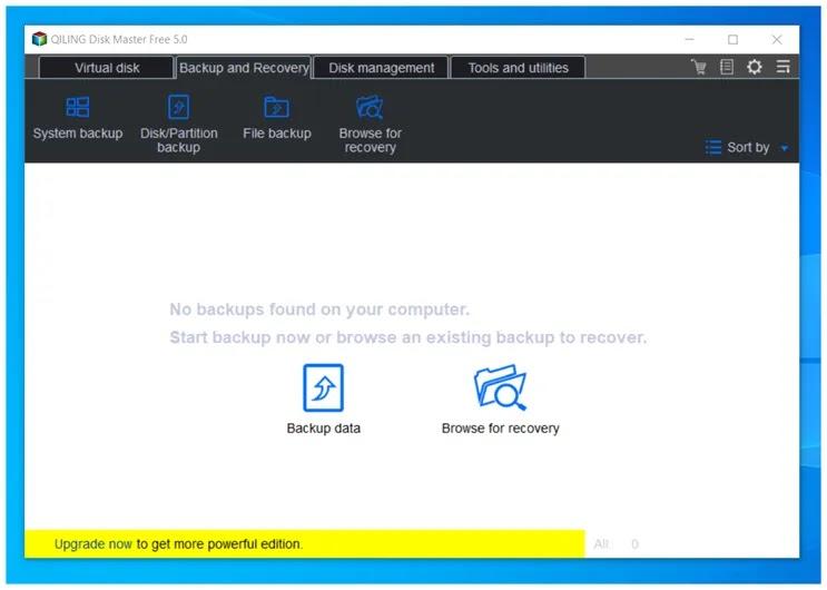 Disk Master Free :  Δωρεάν πρόγραμμα για τη δημιουργία εικονικών δίσκων και  αντιγράφων ασφαλείας