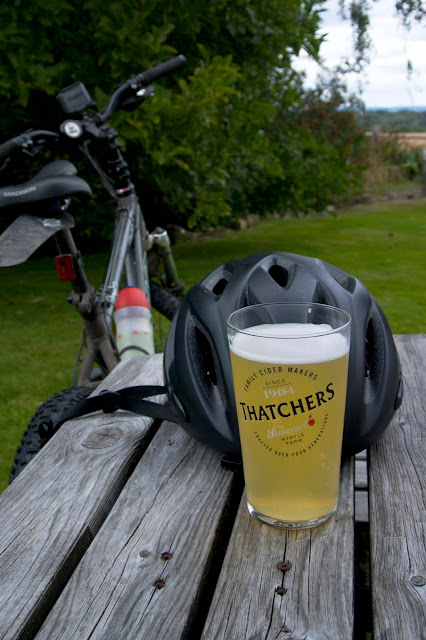 thatchers cider at the chafford arms fordcombe
