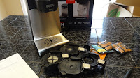 bunn coffee maker initial setup