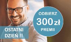300 zł premii z kontem Alior Bank