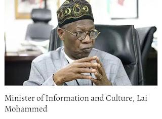 Twitter ban: Facebook, Instagram must register as businesses in Nigeria – Lai Mohammed