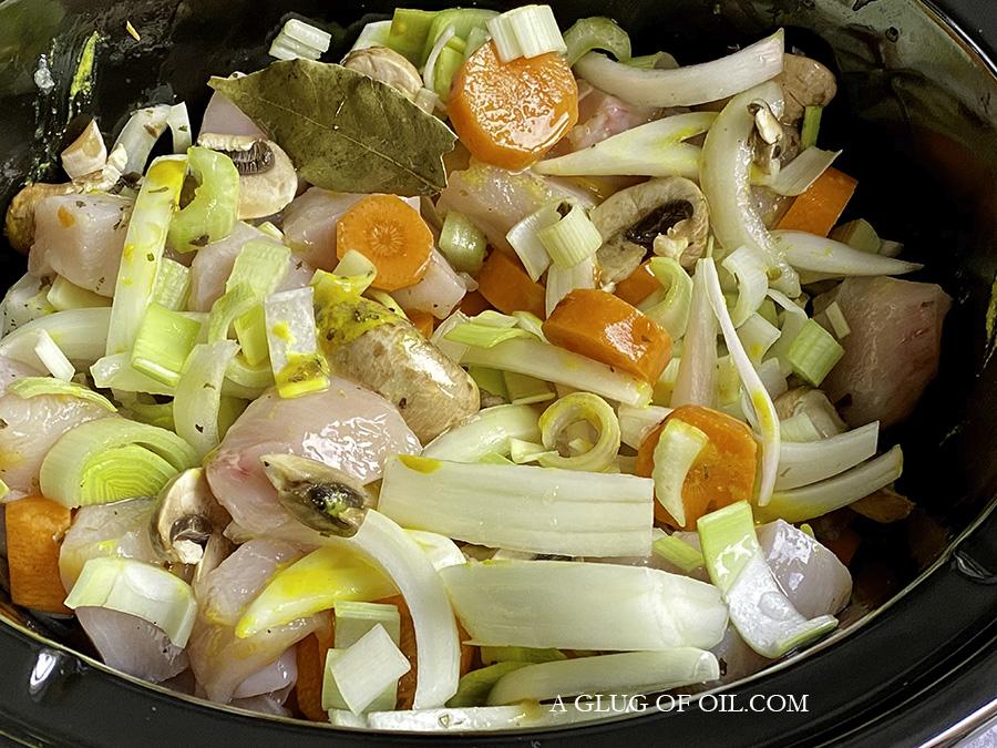 Ingredients slow cooker chicken casserole