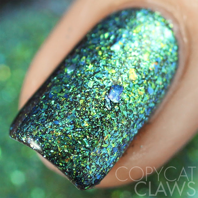 Lacquester Cornflakes Northern Lights Swatch
