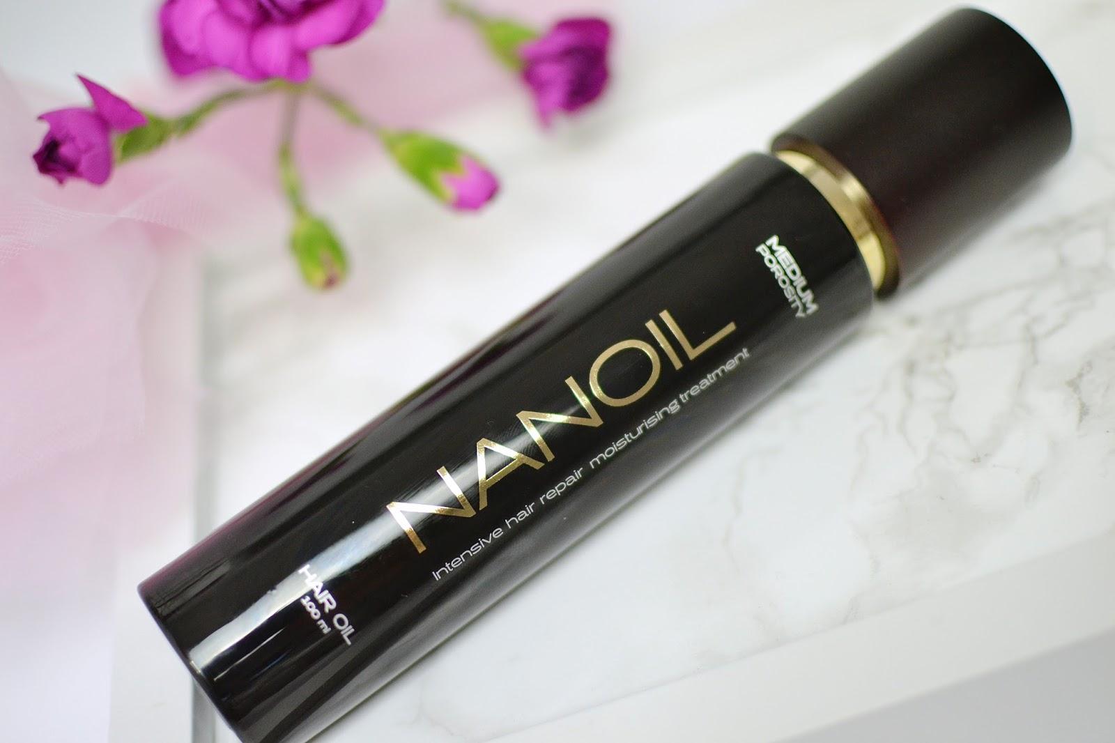 nanoil olejowanie włosów