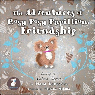 Feature Author~The Adventures of Rosey Posy Papillion by Diana Rangaves~