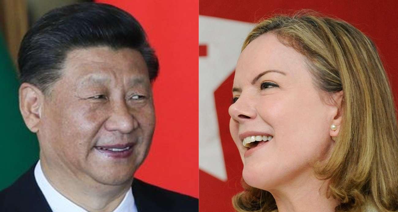 """PT diz querer aprofundar """"relações de amizade"""" com o Partido Comunista Chinês"""