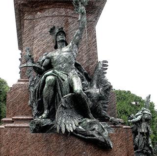Monumento ao General San Martín na Plaza San Martín, Buenos Aires