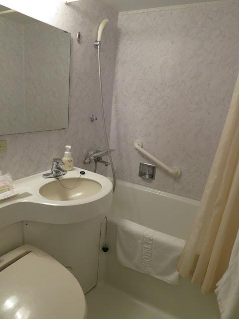 Princess Garden Hotel Room Bathroom. Tokyo Consult. TokyoConsult.