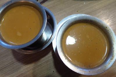 Madras New Woodlands, masala tea