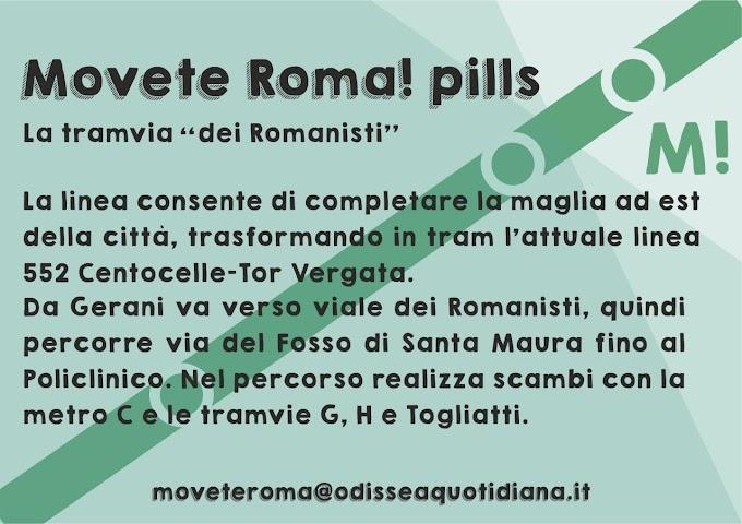 Movète Roma Pillola, numero 21: La tramvia dei Romanisti