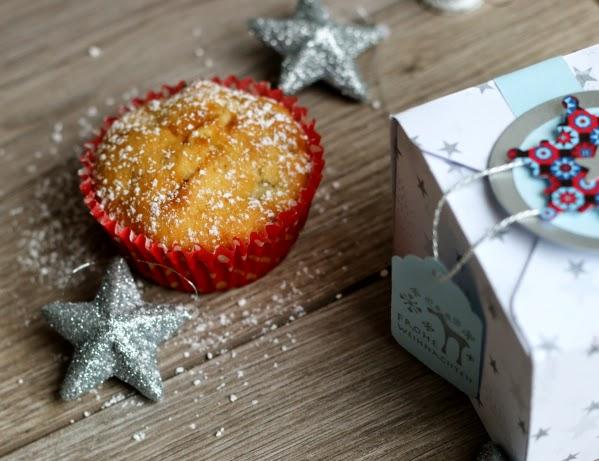 Bratapfelmuffin, Geschenk, Weihnachtsbäckerei, Weihnachten, Fleurcoquet