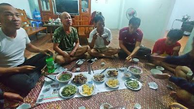 jedzenie w Wietnamie, kolacja w Ha Giang
