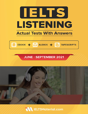 IELTS Listening Actual Test with Answers (June - September 2021) pdf audio