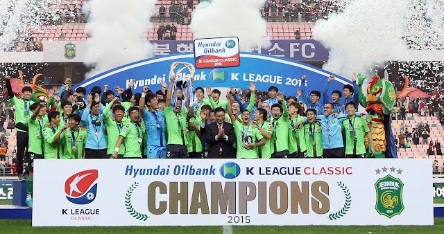 K-League Classic Champions 2015: Jeonbuk Hyundai Motors