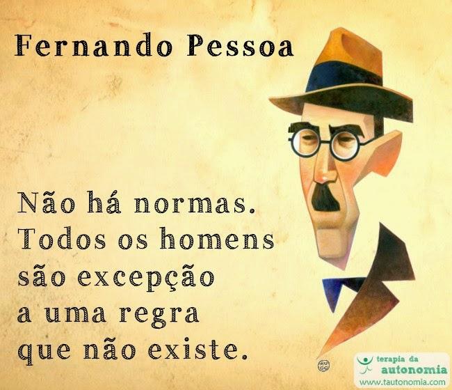 Fernando Pessoa - Não há normas