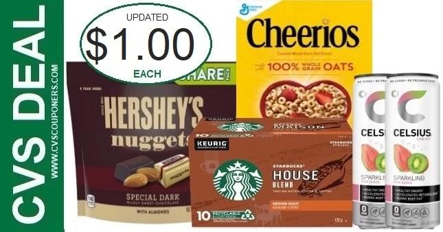 Huge Coupon Savings on Grocery items at CVS