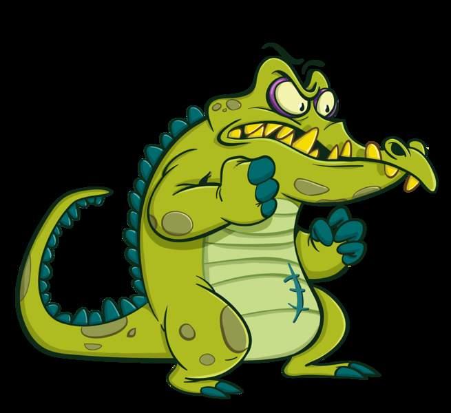 Картинка крокодильчик свомпи