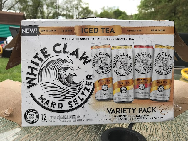 To Drink or Not To Drink? White Claw Iced Tea Variety Pack