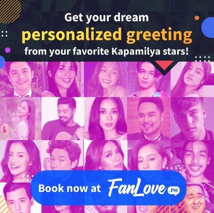 Fanlove.ph video greeting from Kapamilya stars as digital gift ideas