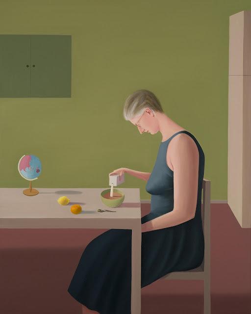 Prudence Flint, pinturas, imagenes de soledad femenina bonitas, chidas de arte inspirador, mujer,