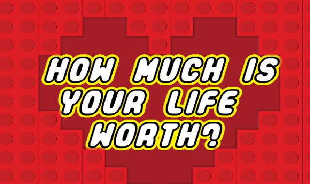 How Much Is Your Life Worth? #infographic